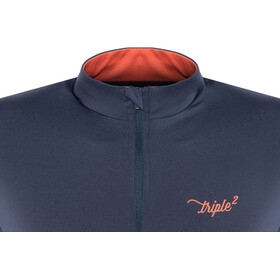 Triple2 Velozip Performance Jersey Women living coral
